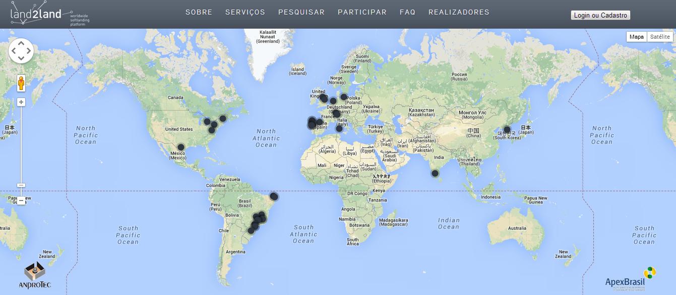 Plataforma aproxima ambientes de inovação de vários países