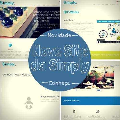 O site da Simply está de cara nova!