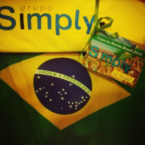 Simply na Torcida pelo Brasil!